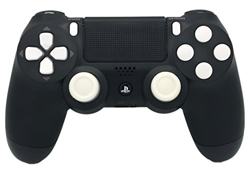 White Out PS4 Rapid Fire Modded Controller, Works With All Games, COD, Rapid Fire, Dropshot, Akimbo & More