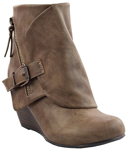 Blowfish Women's Bilocate Boot Taupe Lonestar