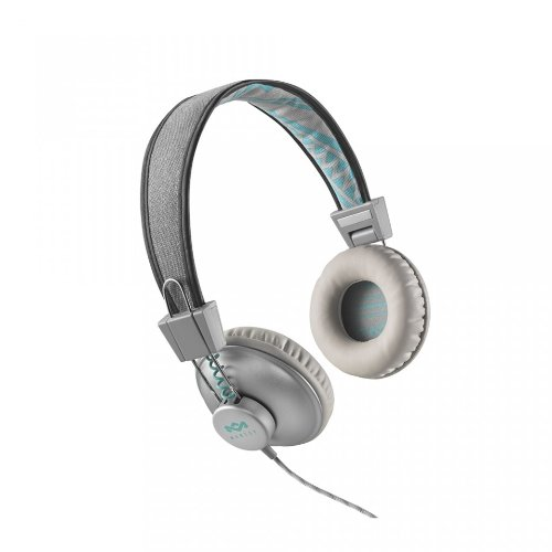 House Of Marley Jammin' Positive Vibration On-Ear Headphones (Mist) EM-JH013-SM