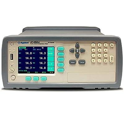 Thermocouple Temperature Recorder 24 Channels Thermocouple Display J/K/T/E/S/N/B Multi-Channel Temperature Meter AT4524