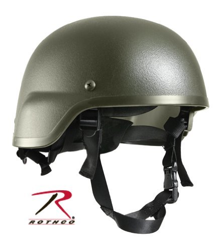 Rothco ABS Mich-2000 Replica Tactical Helmet, Olive Drab
