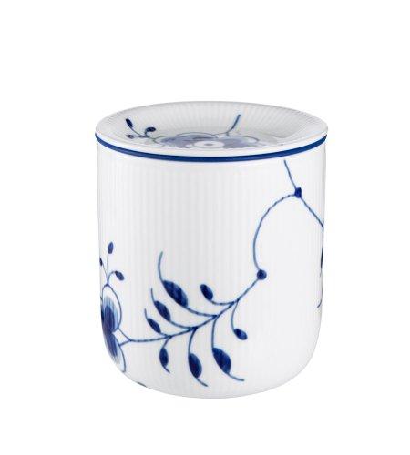 Royal Copenhagen Blue Fluted Storage Jar Medium 5 Inches by Royal Copenhagen