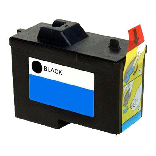CompAndSave Replacement for Dell 7Y743 Black Series 2 Ink Cartridge (Dell Series 2 Black Ink Cartridge 7y743)