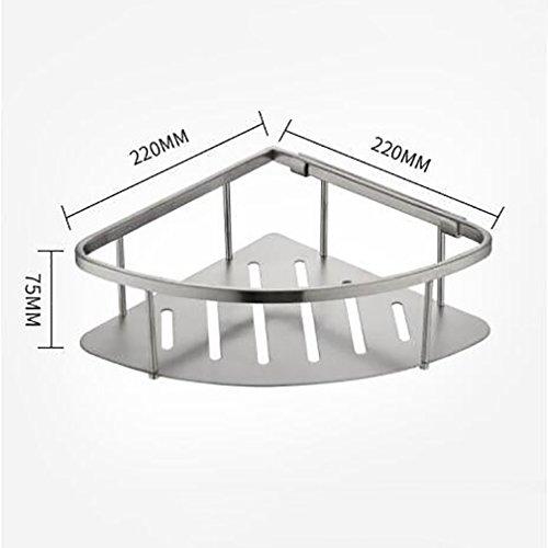 FeN Wall Mount Storage Shelf,Bathroom Triangular Rack,Hotel Storage Basket,Kitchen Spice Shelves,for Office Torage Organizer Holder by FeN (Image #5)