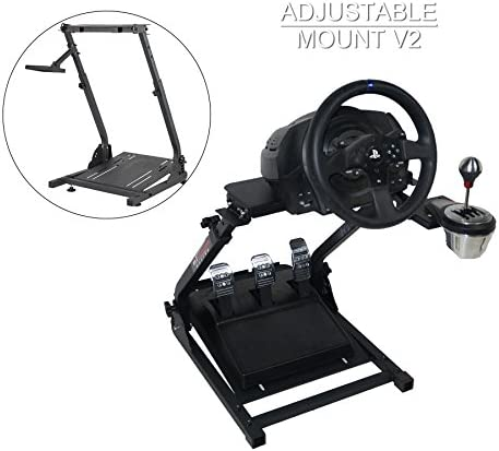 CO-Z Foldable Racing Steering Wheel Stand Plus Gearshift Mount for Logitech G920 Racing Wheel Pedal & Shifters