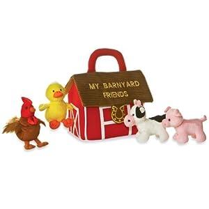 My Barnyard Friends Mini-Plush Set: Aurora My Baby Talk Play Set by My Baby Talk Play Set