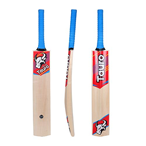 TAURO Zing 900 Kashmir-Willow Cricket Bat – Full Size SH, for Tennis Ball, SH Price & Reviews