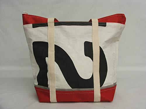 Recycled sail bag, small tote