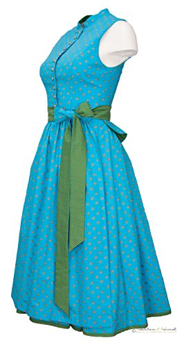 Vintage Dirndl Anno Domini Design Agnes türkis 70cm