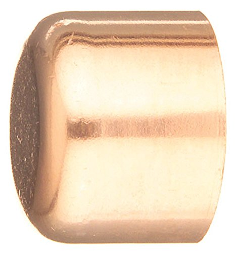 Elkhart Products Corp. 30634 Epc Tube Cap, 1-1/4 In, Sweat/Solder, Wrot, 1.25