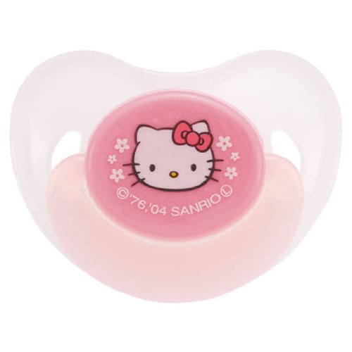 Hello Kitty Japan Richell Baby Pacifier for 2 to 3 Months