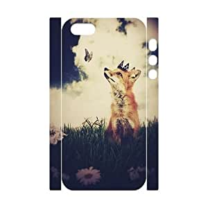 custom iphone5,iphone5s 3D case, Vulpes Vulpes 3D hard back case for iphone5,iphone5s at Jipic (style 3)