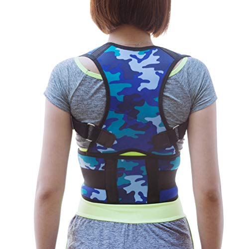 Relief Pain Back Brace Posture Corrector Strap Neck Shoulder Upper Back Support for Cervical Spine for Men Women