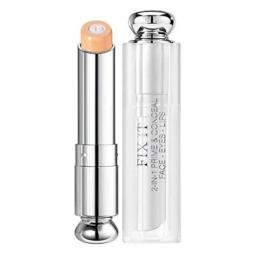 Christian Dior Concealer - Christian Dior Fix It 2-in-1 Prime and Conceal Face with Eyes and Lips, No. 002 Medium, 0.12 Fluid Ounce