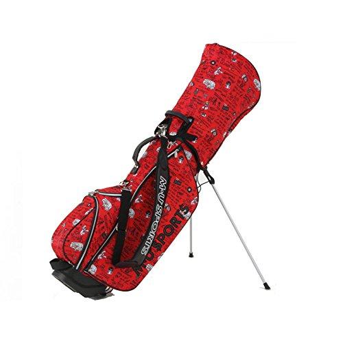 注文割引 MU SPORTS MUスポーツ MU 703V4102 スタンドキャディバッグ B074JZ1W8S B074JZ1W8S Red Red Red, ミョウギマチ:48309260 --- ciadaterra.com