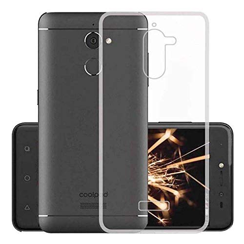 YuBingo Back Cover for Coolpad Note 5 Lite  360 Degree, Mobile Case, Transparent, Soft Silicone, TPU
