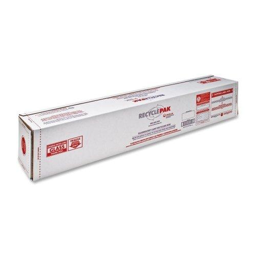 Wholesale CASE of 5 - Strategic Prod. 4 Ft Fluorescent Tube Recycle Kit-Recycle Kit, 4ft Fluorescent Tubes, White/Red