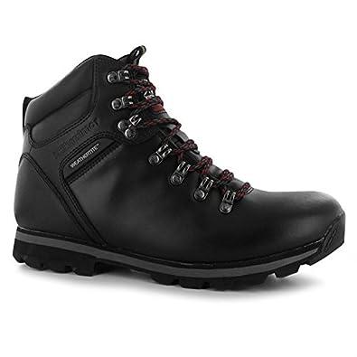 Mens Munro Walking Hiking Boots Lace Up Leather Waterproof Footwear