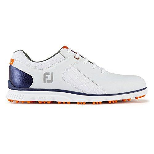 家事をする禁止する見る人FootJoy(フットジョイ) メンズ 男性用 シューズ 靴 スニーカー 運動靴 Pro SL - White/Black/Silver [並行輸入品]