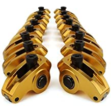 "Competition Cams 19021-16 Ultra-Gold Aluminum Roller 1.7 Ratio, 7/16"" Stud Diameter Rocker Arm for Big Block Chevrolet"