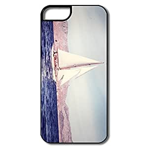 Designed Funny Fit Series Sailing Boat Retro IPhone 5/5s Case For Her