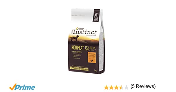 True Instinct High Meat Medium-Maxi Pienso para Perro Adulto con Pollo - 2 kg