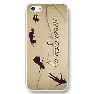 diy phone caseCustomized Disney Cartoon Peter Pan White Hard Plastic ipod touch 4 Casediy phone case