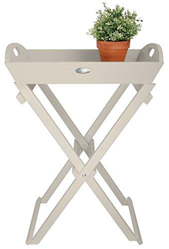 Esschert Design Butlers Tray, White by Esschert Design