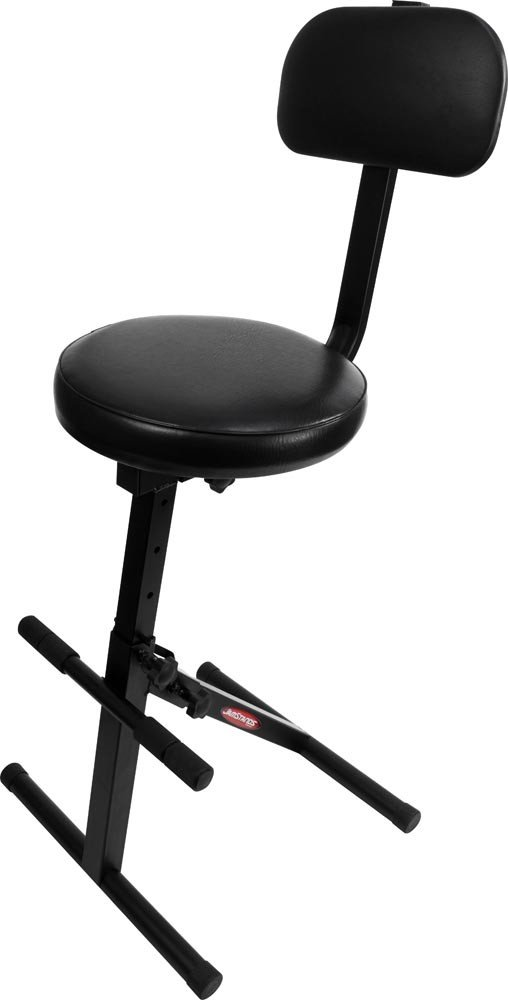 Ultimate Support JS-MPF100 JamStands Series Music Performance Chair, Black