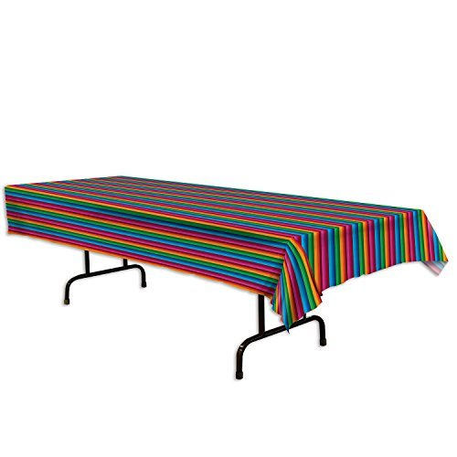 Fiesta Table Cover (54 In. X 108 In.) (Value 3-Pack) by Beistle