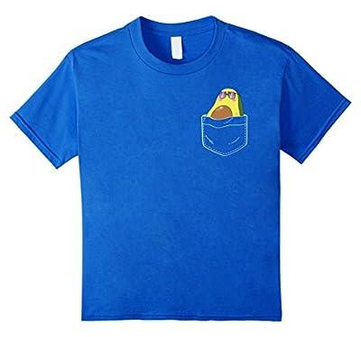 Pocket Avocado T-Shirt - Funny I Love Guac Tee
