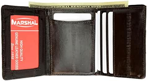 Eel Skin Trifold Wallet from Marshal Style - E314