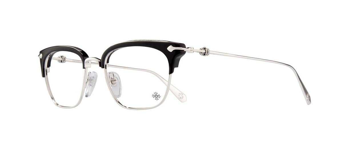 Amazon.com: Chrome Hearts - Sluntradiction - Eyeglasses (Black/Gold ...