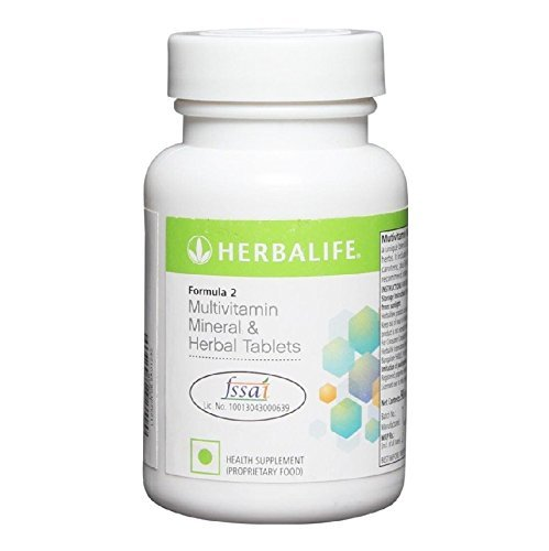 Herbalife formula 2 Multivitamin Mineral and Herbal Tablets - 90 Tablets by ANMOL COLLECTIONS