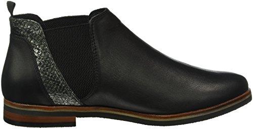 Caprice Damen 25301 Chelsea Boots Schwarz (Black NAP Comb 31)