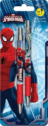 InkWorks - Marvel - Ultimate Spider-Man - 2 Mechanical Pencils - 0.5mm -