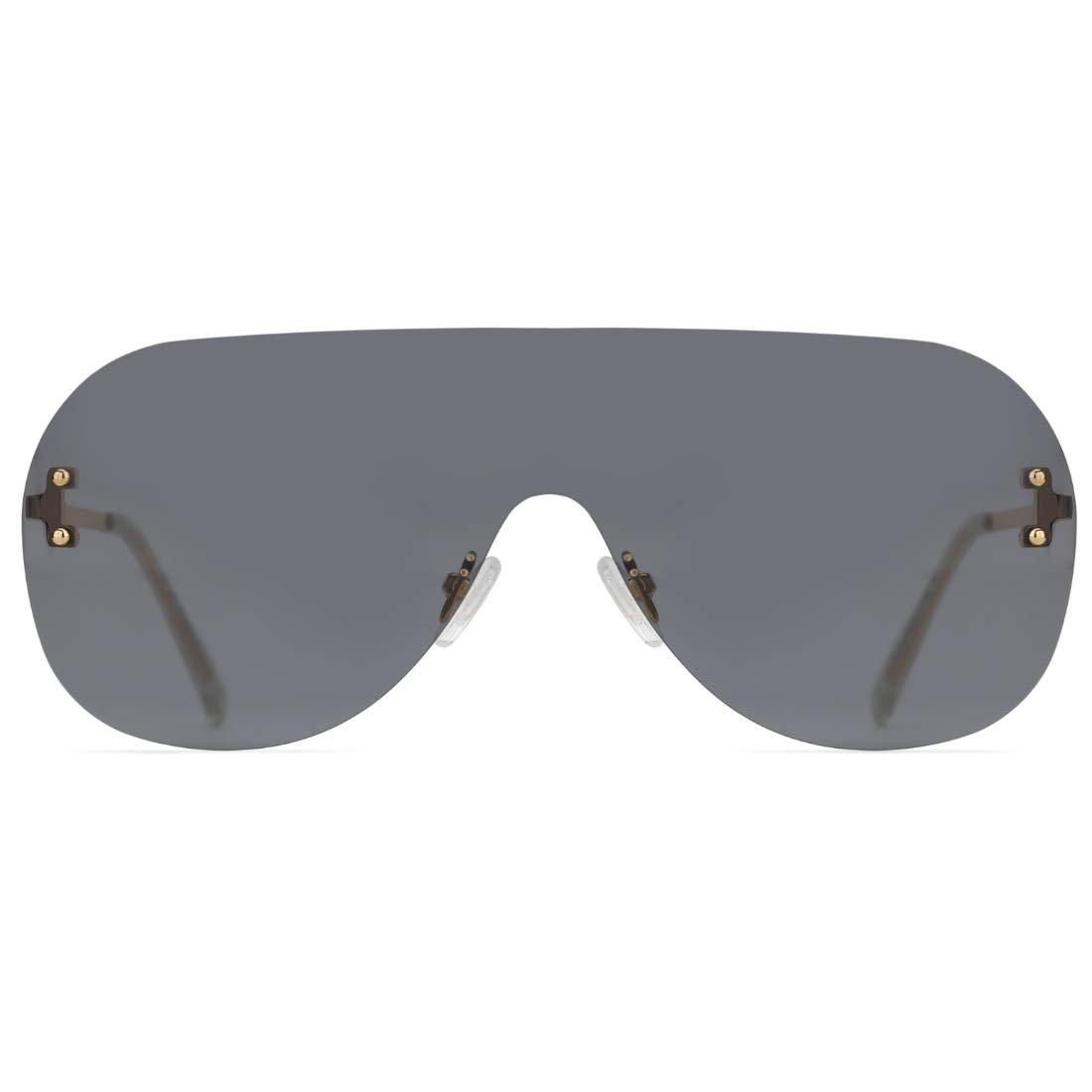 Slocyclub Vintage Round Sunglasses for Women Men Classic Retro Sun glasses UV