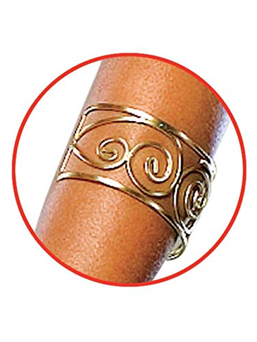 Spartan Queen Arm Cuff Gold]()