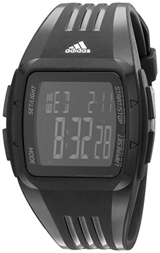 [adidas Unisex ADP6094 Digital Display Watch] (Adidas Sport Performance Buckle)