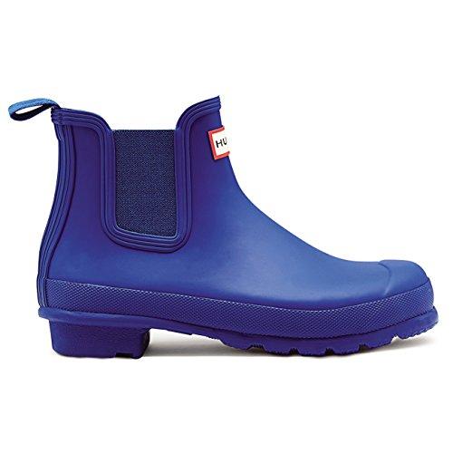Rain Hunter Original Chelsea Ankle Boots Wellingtons Waterproof Azure Womens qpPAvwHq