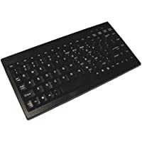 ADESSO Mini Keyboard PS/2 - QWERTY - 89 Keys / ACK-595PB /