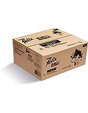 FELIX Zo goed als het eruit ziet, Senior kattenvoer nat in gelei, variëteitenmix, verpakking van 120 (120 x 85 g)