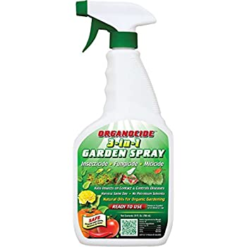 Hydroponics 3 In 1 Organocide Nature Safe Organic Pesticide Insecticide Garden