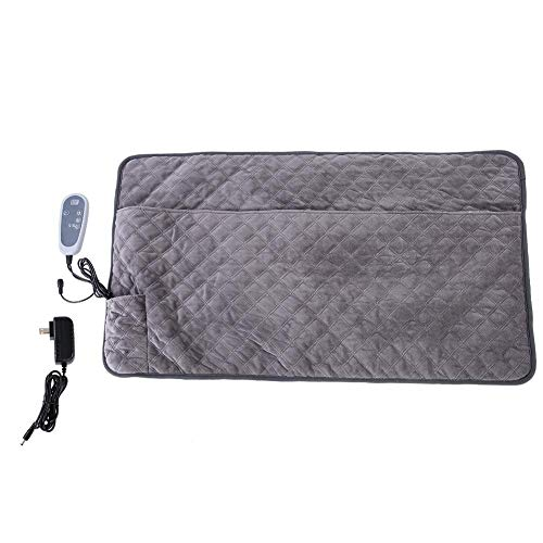, Warming Mat Heated Double Blanket Adjustable Temperature for Warm Foot Waist Abdomen Back Relief Pain of Muscle ()