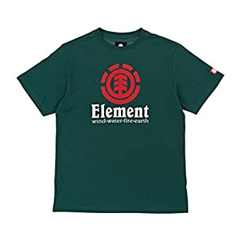 CAMISETA ELEMENT VERTICAL SS BOY DEEP - AZUL AGUA, 14