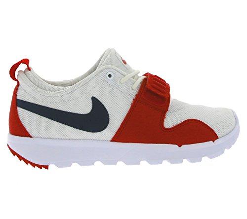 Nike Trainerendor, Zapatillas de Deporte para Hombre Blanco (Blanco (White/Obsidian-University Red))