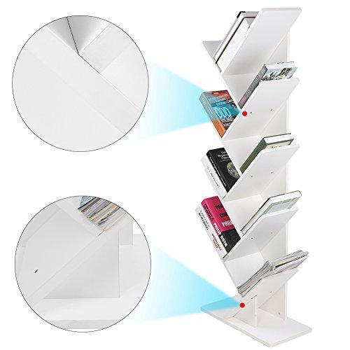 Yosooo Bookshelf Bookcase Display Organization product image