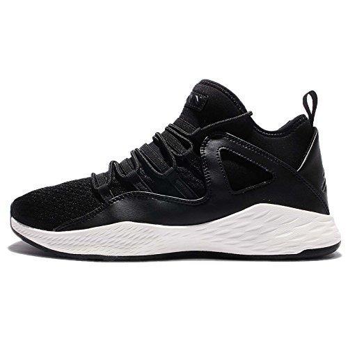 (NIKE Air Jordan Formula 23 Mens Basketball Trainers 881465 Sneakers Shoes (US 8.5, Black Black sail 005))