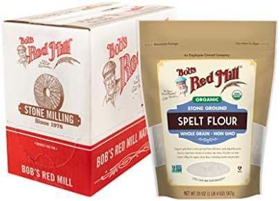 Flours & Meals: Bob's Red Mill Organic Spelt Flour
