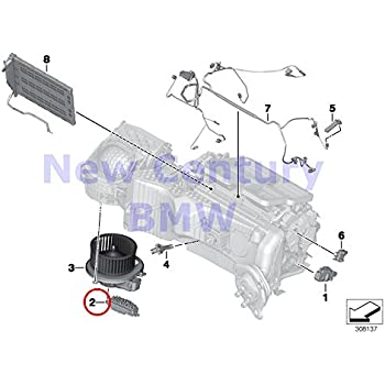 GENUINE Heater Blower Regulator OEM 64119276112 For BMW F15 F16 F20 F20N F21